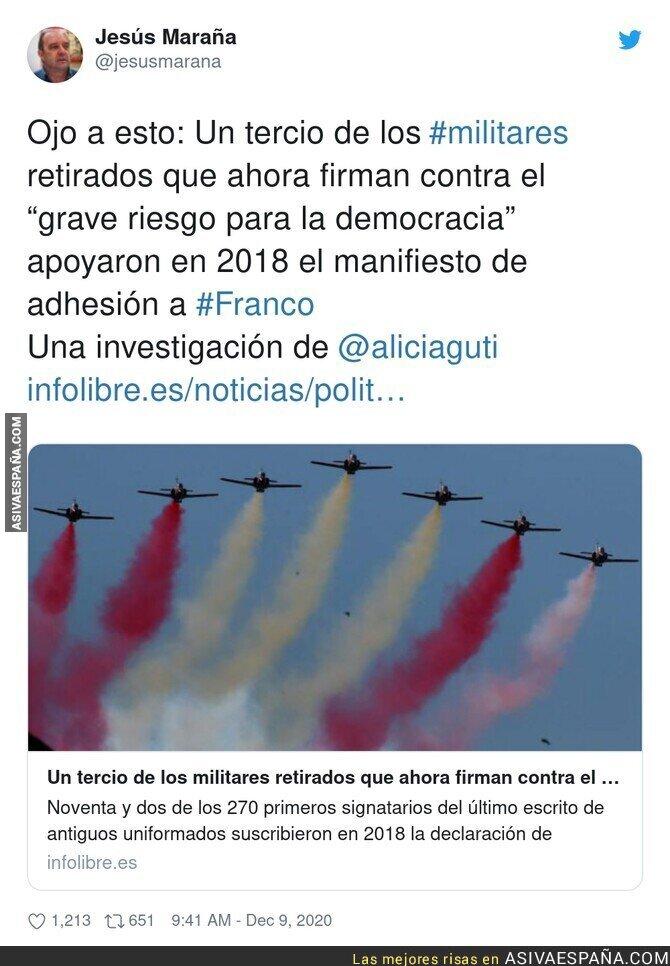 503130 - Un auténtico peligro los militares retirados en Españañ