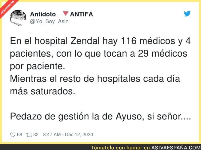 503227 - Es alucinante lo del Hospital de pandemias
