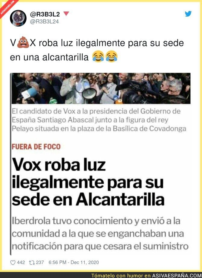504602 - Delincuentes de VOX haciendo de las suyas en Alcantarilla