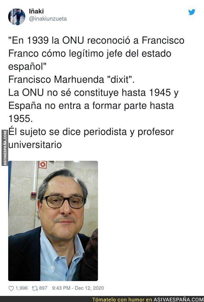 504871 - Director de un panfleto, enchufado en la Universidad de la corrupción