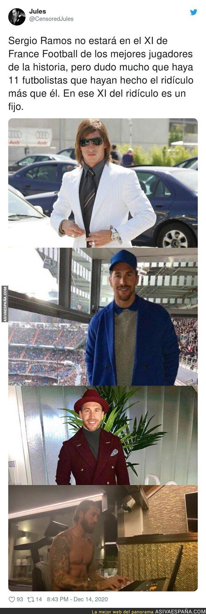 506344 - Menudo historial tiene Sergio Ramos