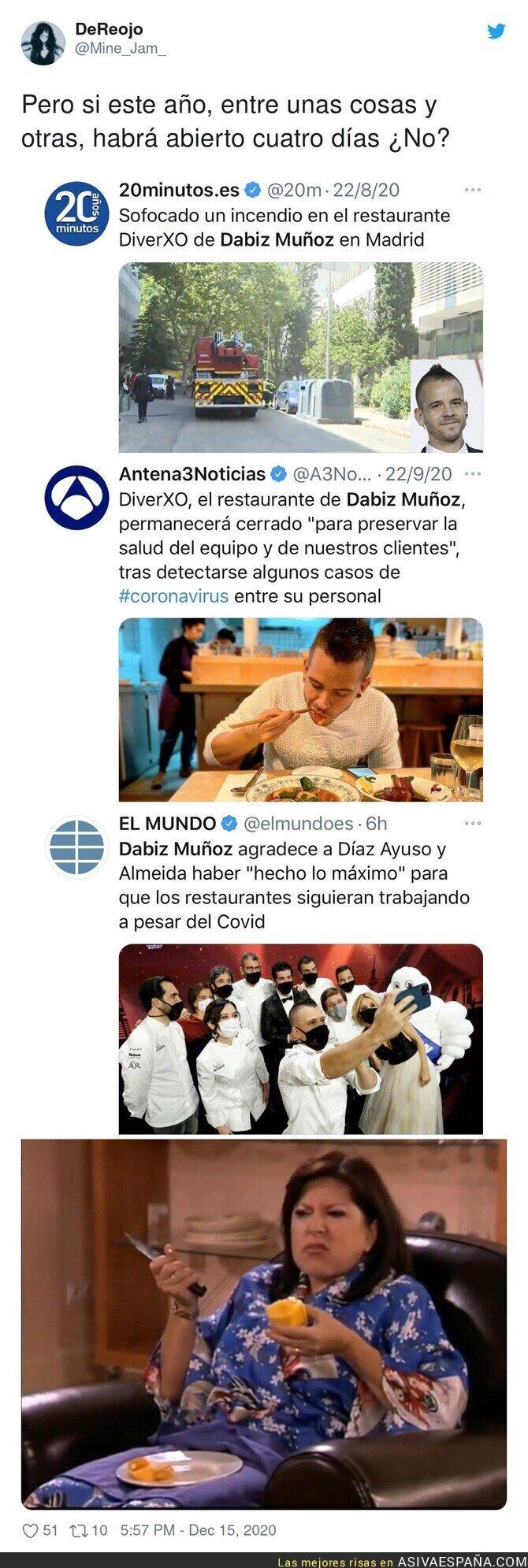 508005 - ¿Pero qué dices Dabiz Muñoz?