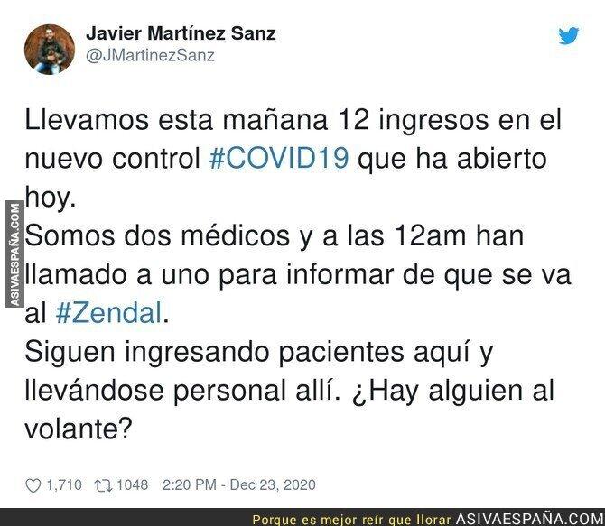 519020 - Un sin sentido lo que está pasando en Madrid