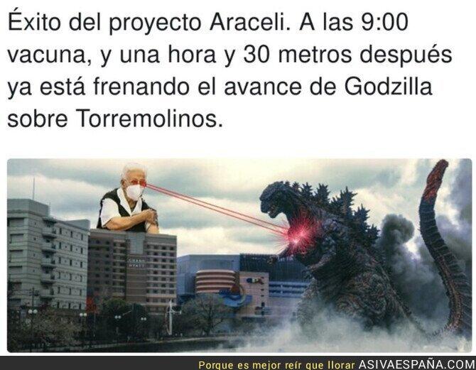 522542 - Araceli está salvando al Mundo