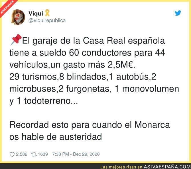 526907 - La austeridad de la Casa Real