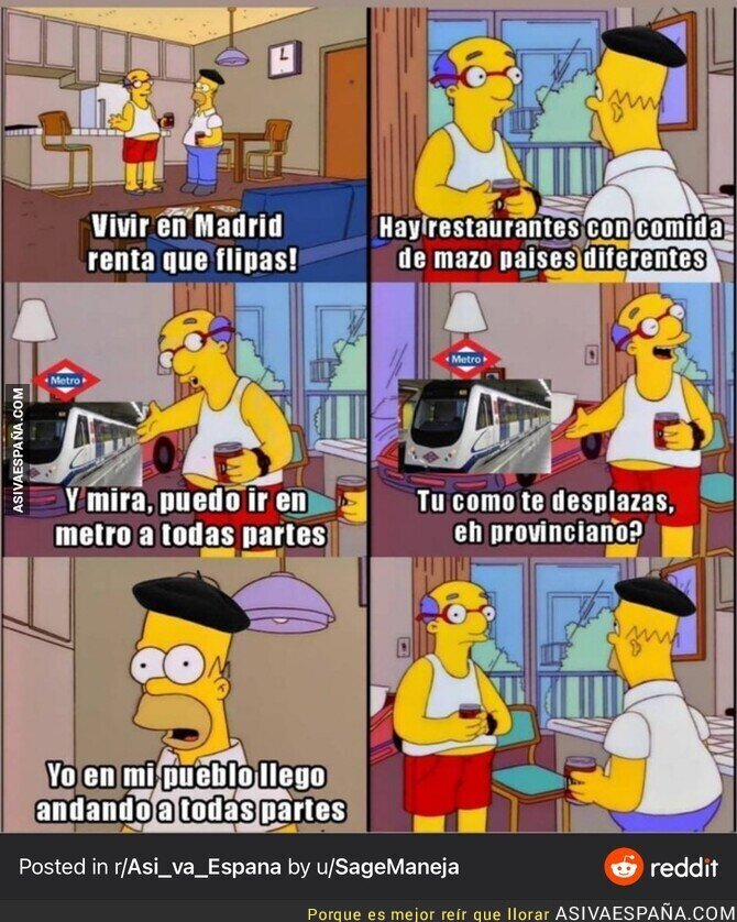 527544 - Diferencias de Madrid y pueblos
