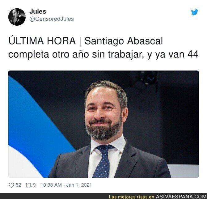 528488 - Menuda vida lleva Santiago Abascal