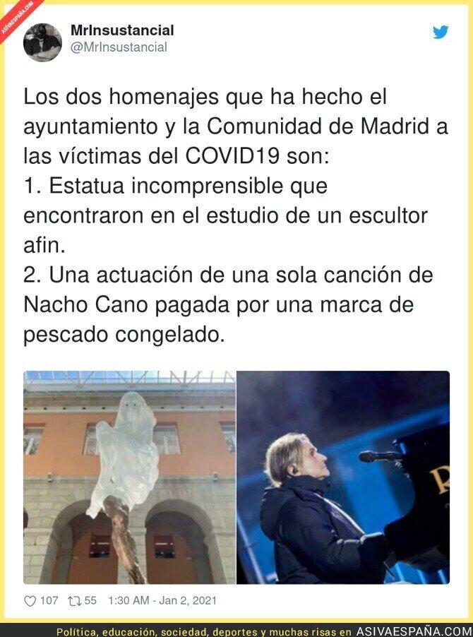529533 - Polémicos homenajes de Madrid a las víctimas de mano del PP