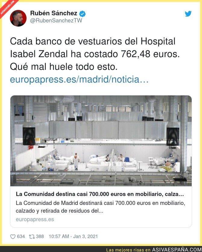 530910 - Cada rincón del hospital de Ayuso es un escándalo