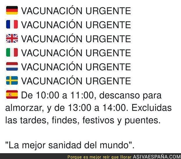 531555 - Simplemente España en época de vacunación de COVID19