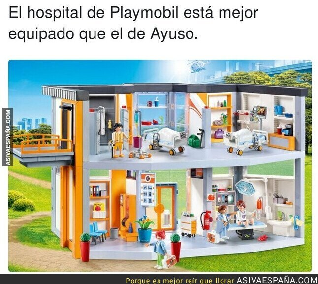 535589 - Isabel Díaz Ayuso ofrece 200 millones de euros por esos quirófanos