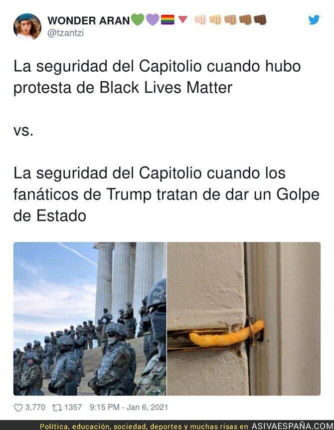 536244 - Que facilidades pusieron par asaltar el Capitolio