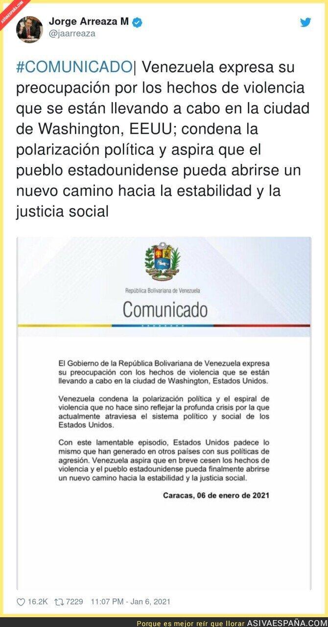 537368 - Venezuela le da una lección a Estados Unidos en forma de troleo