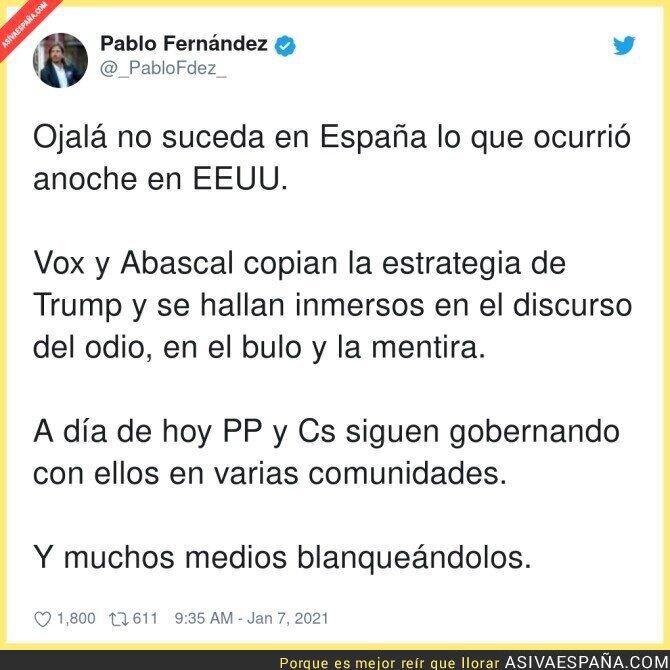 537907 - Menudo peligro tenemos en España con VOX