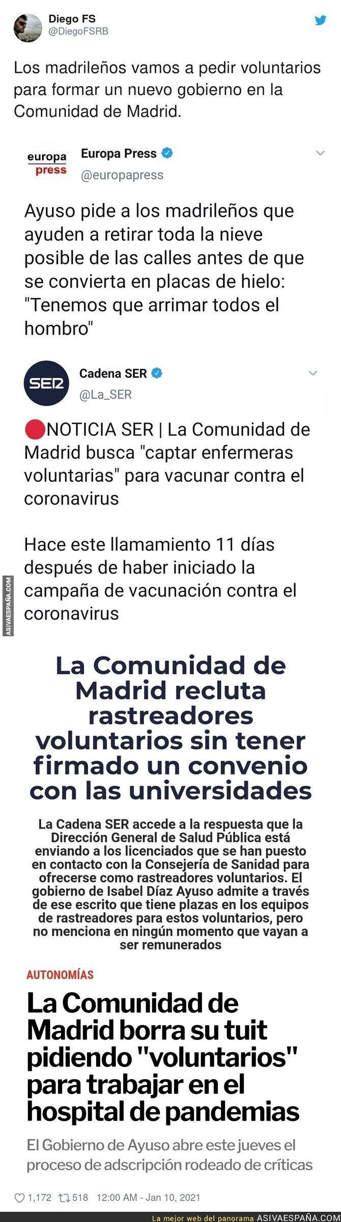543929 - El PP busca gente que trabaje gratis en Madrid
