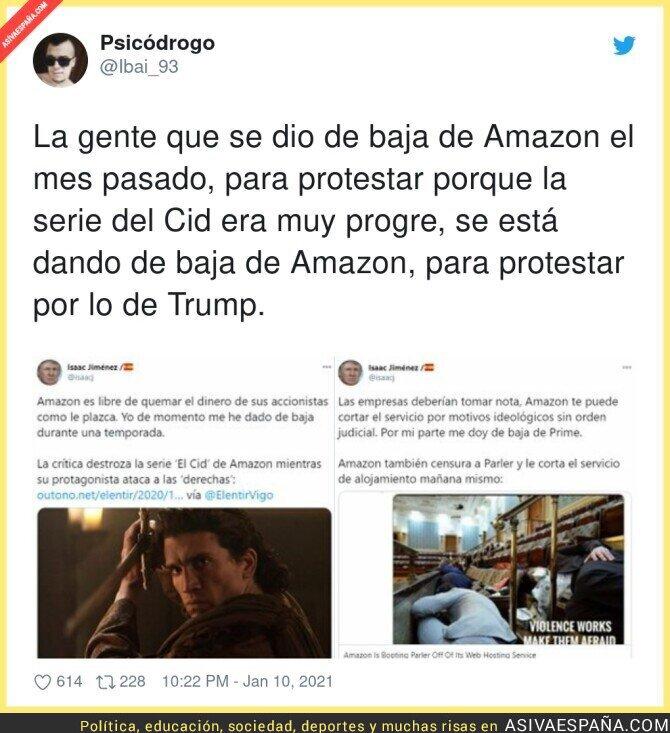 546211 - Todo lo que está pasando con Amazon es surrealista