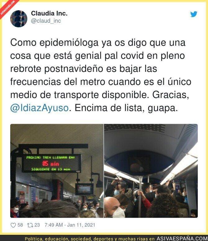 546254 - Sigue el caos absoluto en el Metro de Madrid