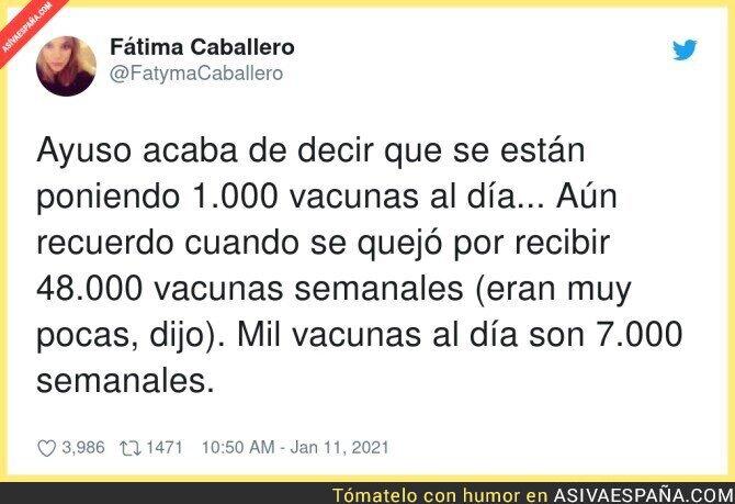 546602 - La cantidad ridícula de vacunas que se están poniendo en Madrid