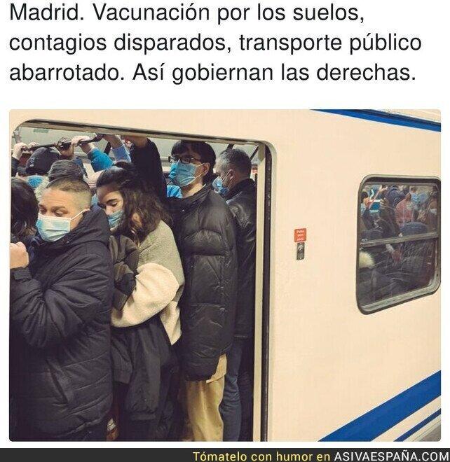 546957 - Madrid no va bien con la derecha al mando