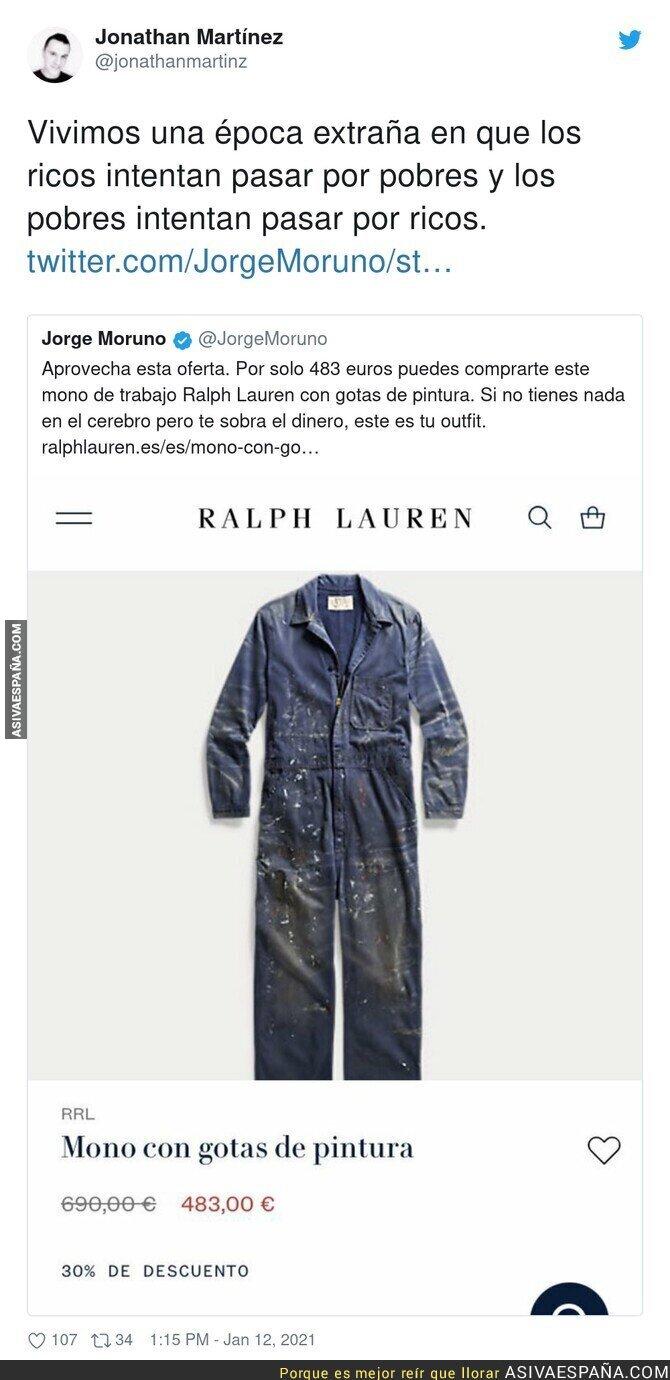 547988 - Ralph Lauren se ríe de la gente poniendo este mono con gotas de pintura a este precio insultante