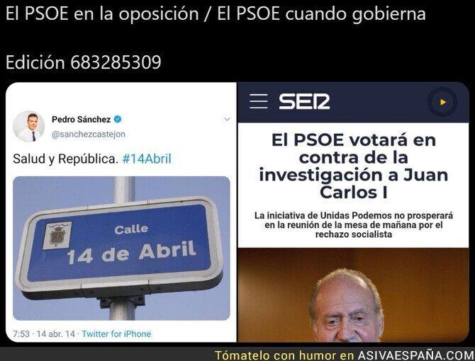 548478 - Como cambia el PSOE cuando está en el poder