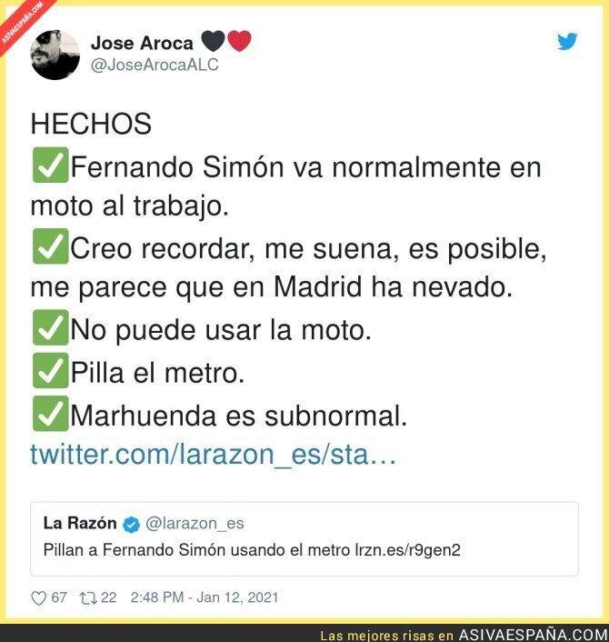 548966 - Van a muerte a por Fernando Simón buscando cualquier excusa