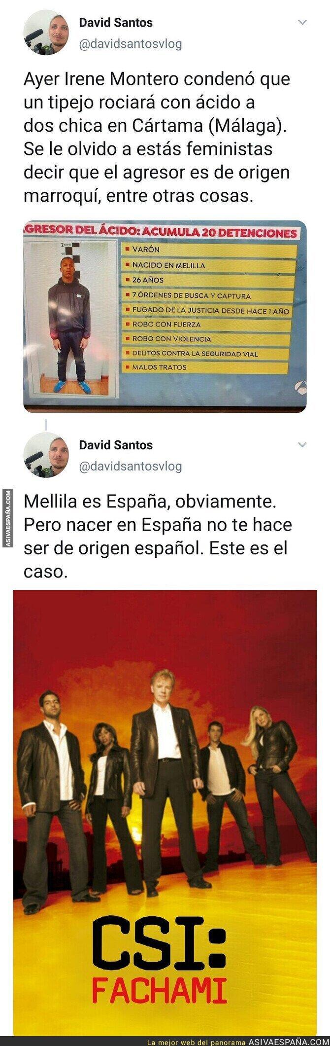 549884 - Los fachas deciden quien puede y quien no ser español