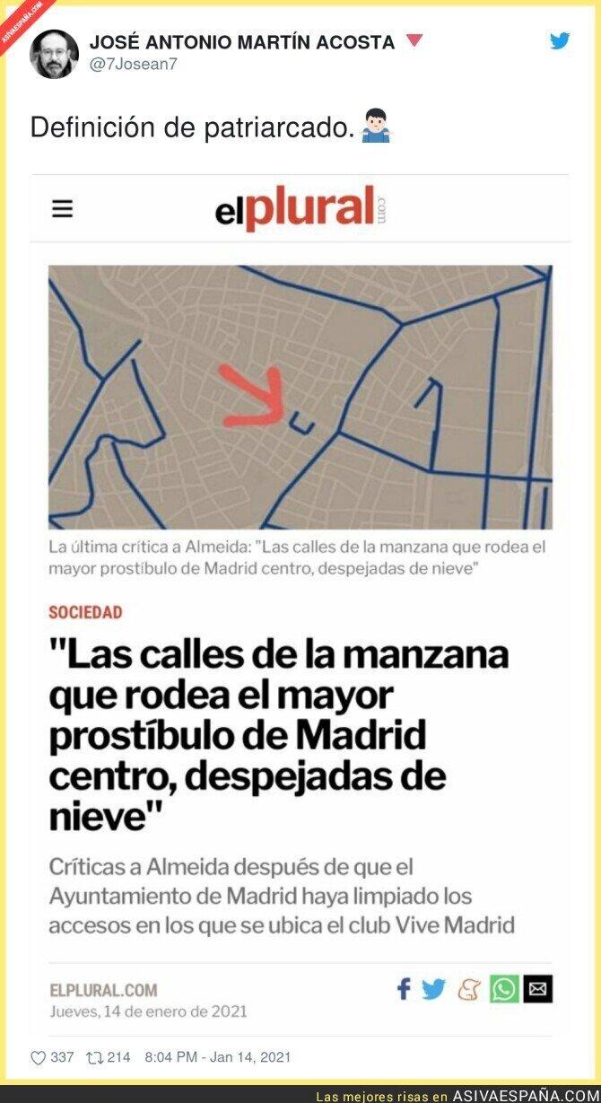 552216 - Curiosa situación de esa calle en concreto de Madrid