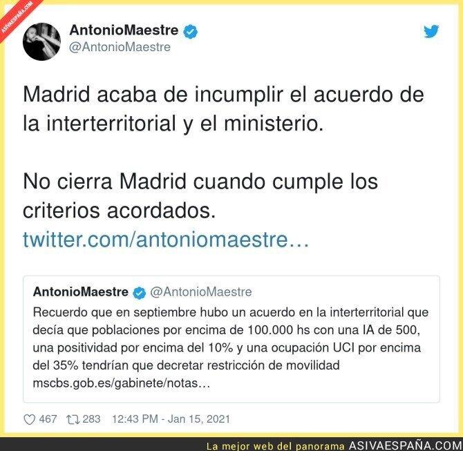 552759 - Grave situación en Madrid