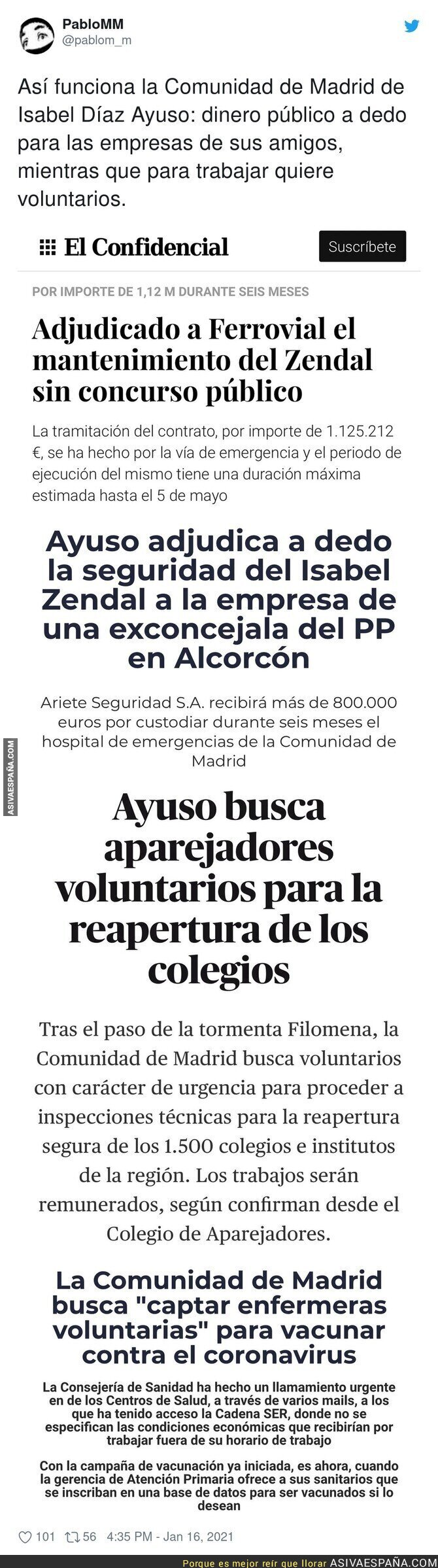 554498 - Madrid busca gente que trabaje como esclavos