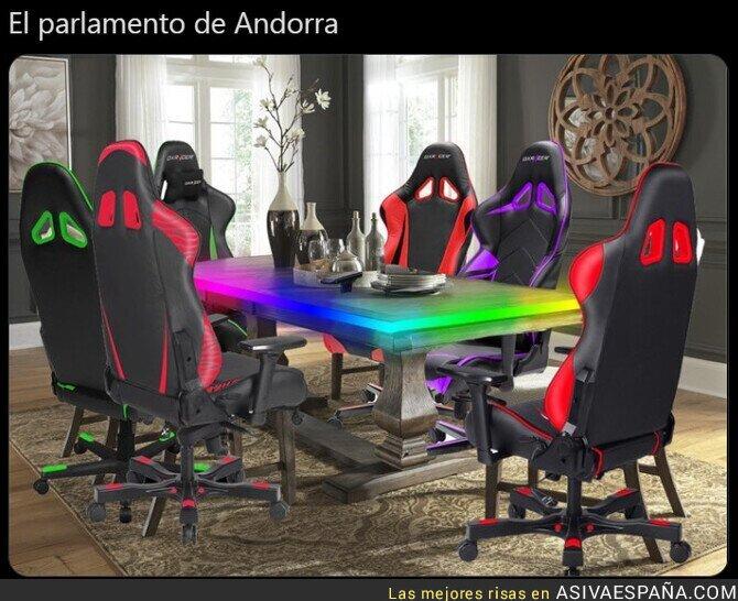 558645 - Jornada política en Andorra