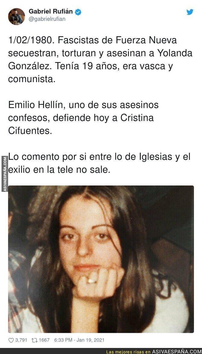 559391 - El oscuro pasado de los defensores de Cristina Cifuentes