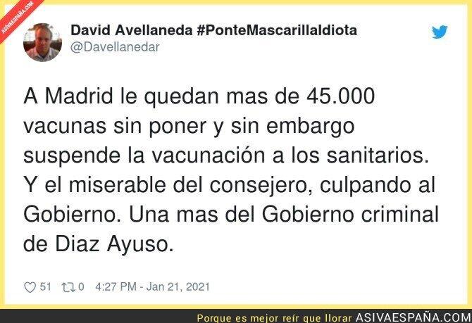 563242 - Es gravísimo lo del Gobierno de Isabel Díaz Ayuso