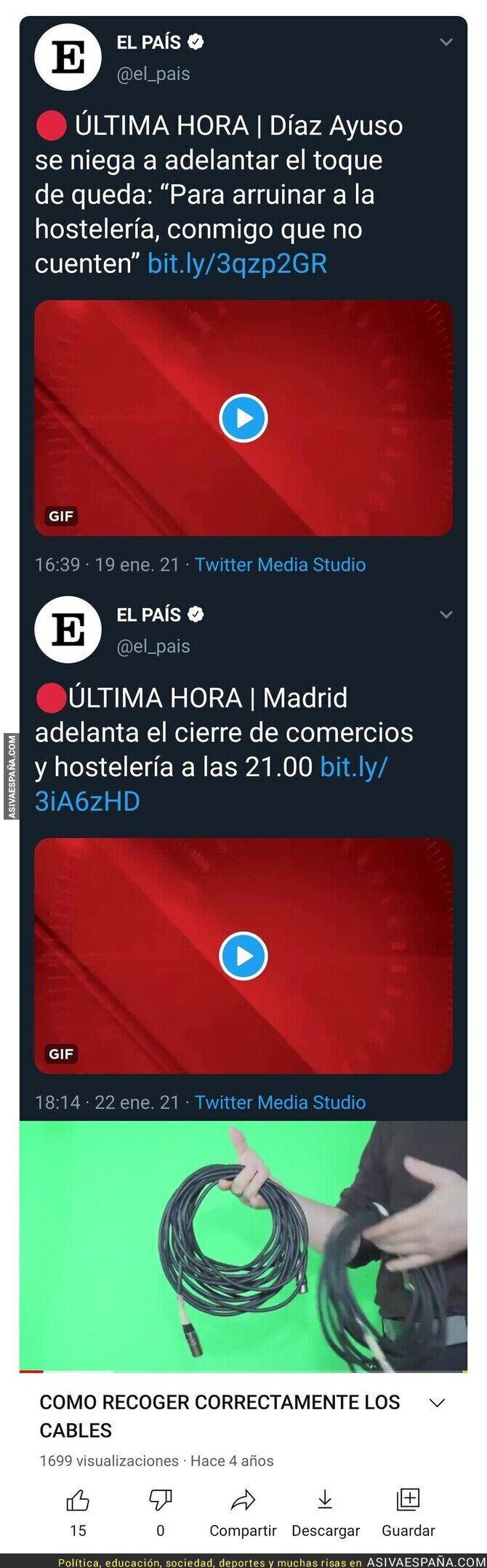 564514 - Isabel Díaz Ayuso hunde la hostelería en Madrid