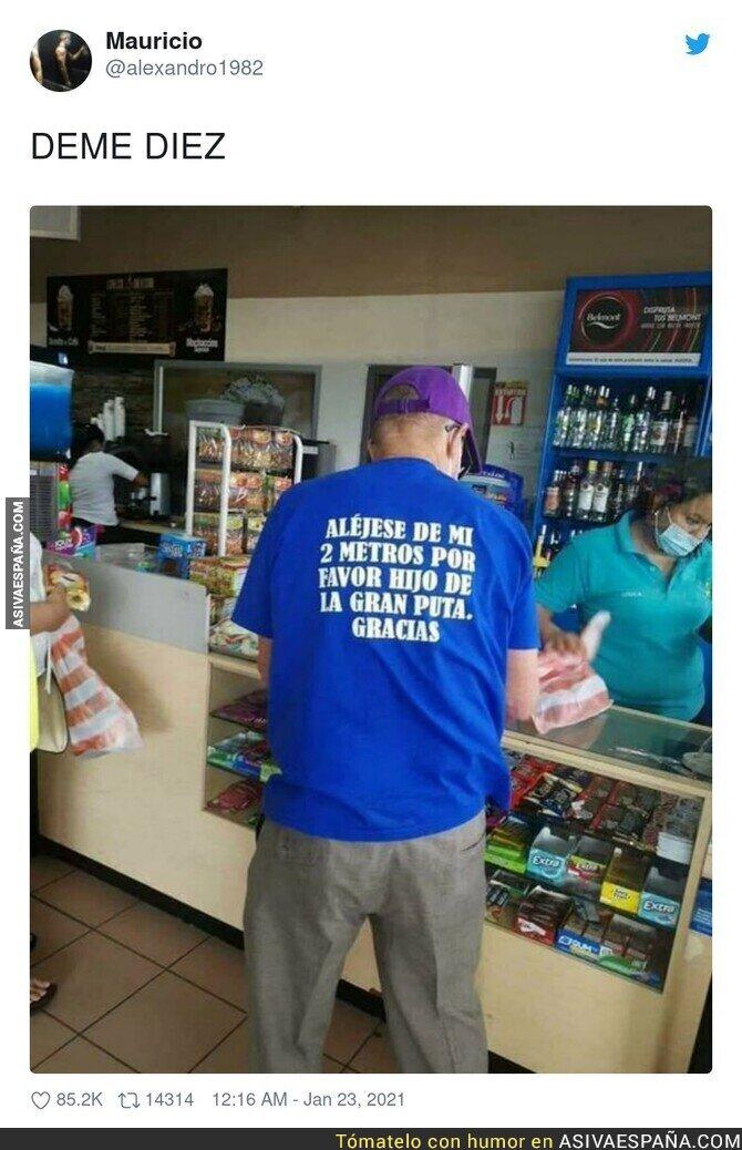 565991 - La mejor camiseta de la pandemia