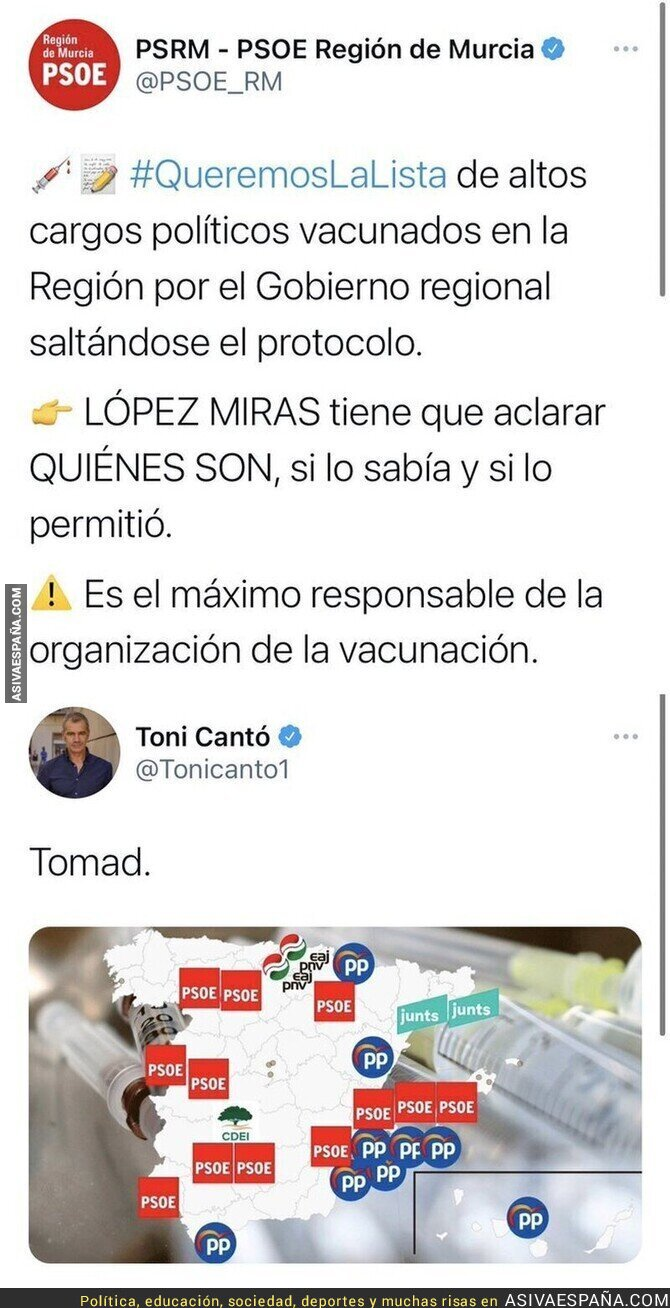 566519 - Toni Cantó ayuda al PSOE