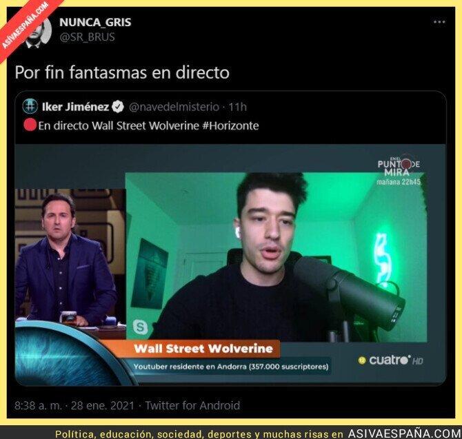 572532 - Iker Jiménez el cazafantasmas