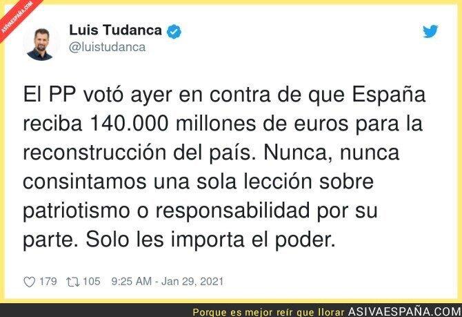 573926 - Así son los patriotas del PP con su propio país