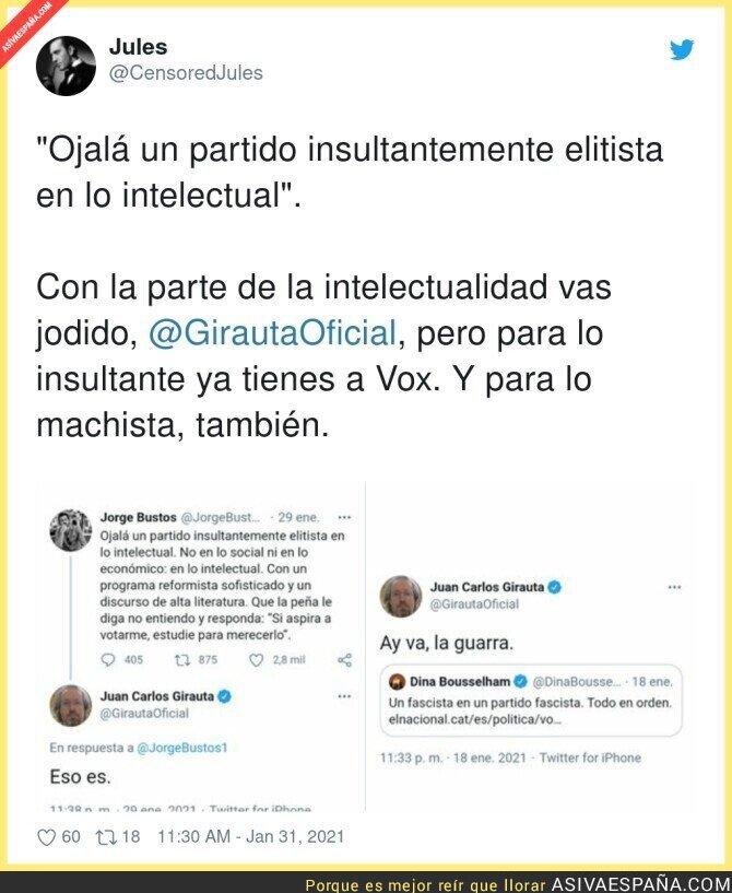 577022 - Juan Carlos Girauta no está para dar lecciones a nadie