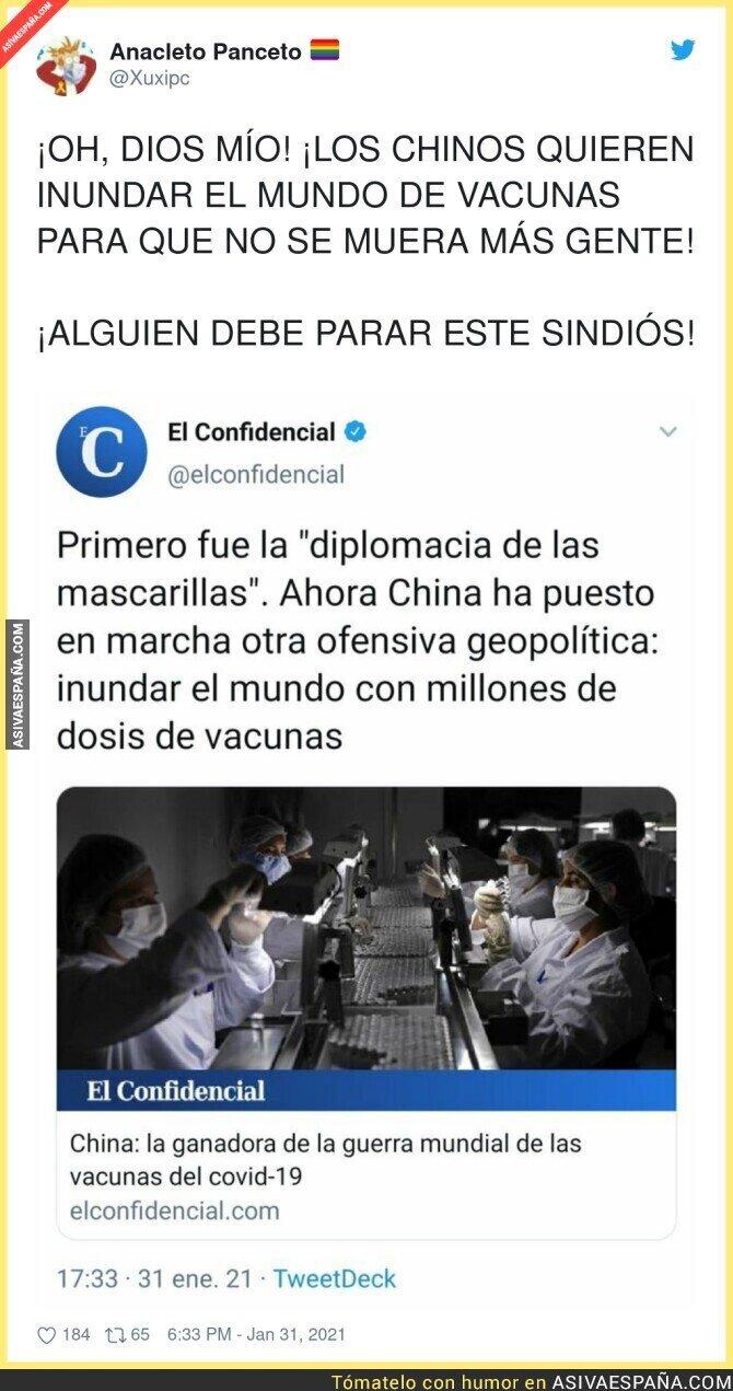 577745 - Los Chinos, asumiendo el liderazgo mundial, por incomparecencia de EE.UU
