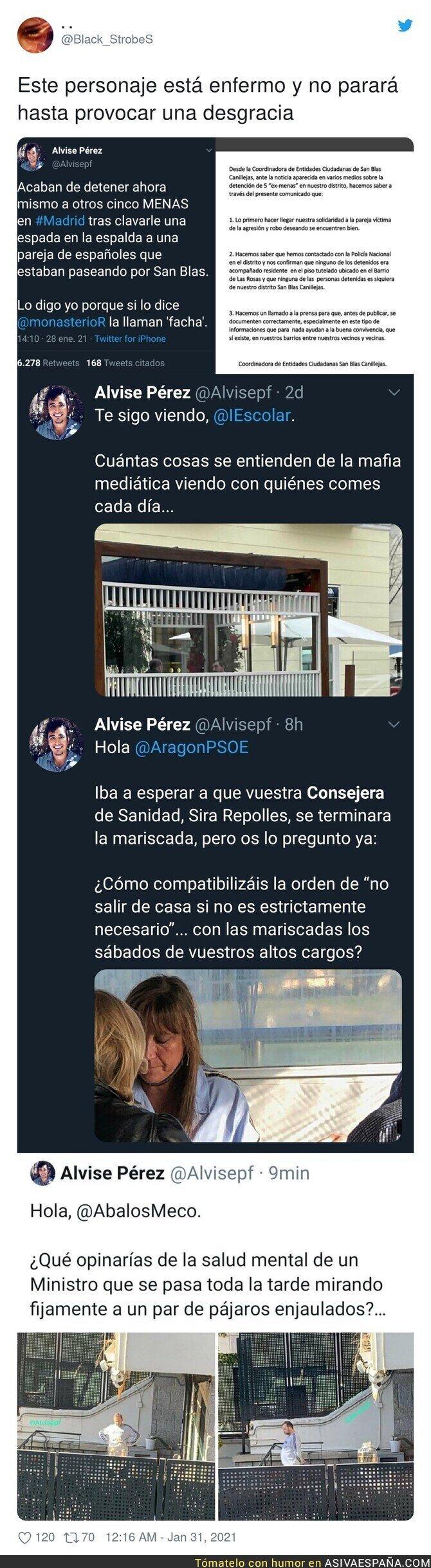 578233 - Contra esta basura de Alvise Pérez tiene que actuar la ley
