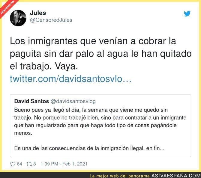 578607 - La culpa siempre para el inmigrante