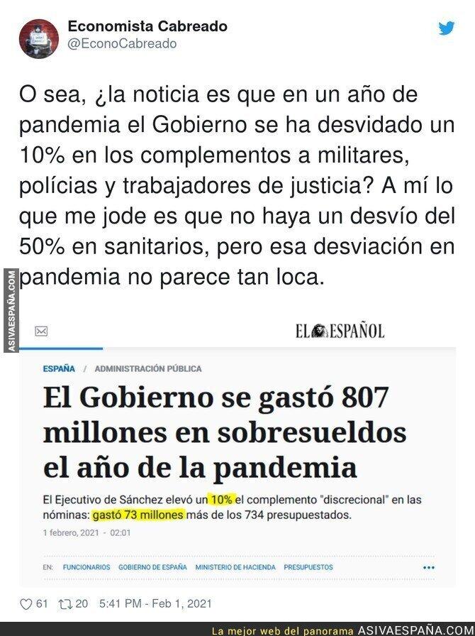 579093 - Prioridades de España en la pandemia