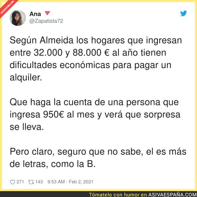 580121 - Las cuentas que no le interesan a José Luis Martínez Almeida