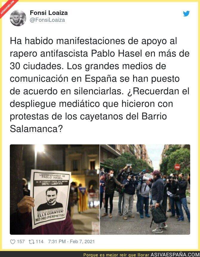 588673 - Quieren que nadie se entere que un rapero va a la cárcel en España