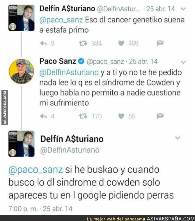 589735 - Paco Sanz pacta 2 años de cárcel por su estafa y recordamos el primero que le pilló con su mentira
