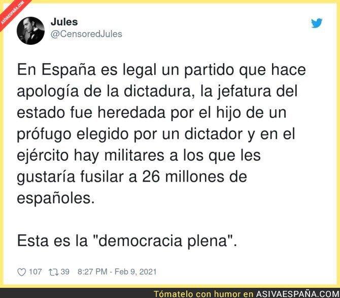 591694 - La democracia plena española