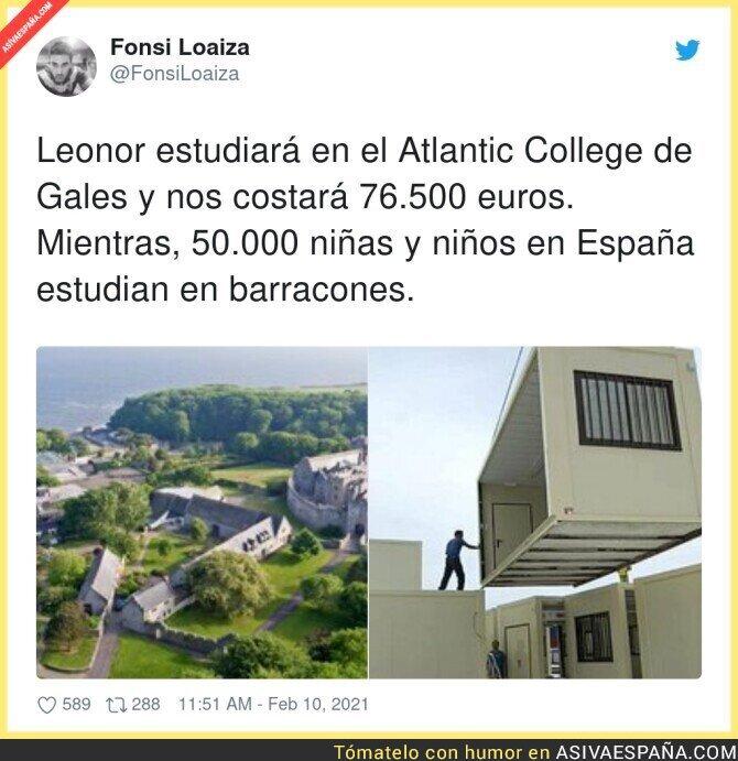 592467 - Leonor se va de España