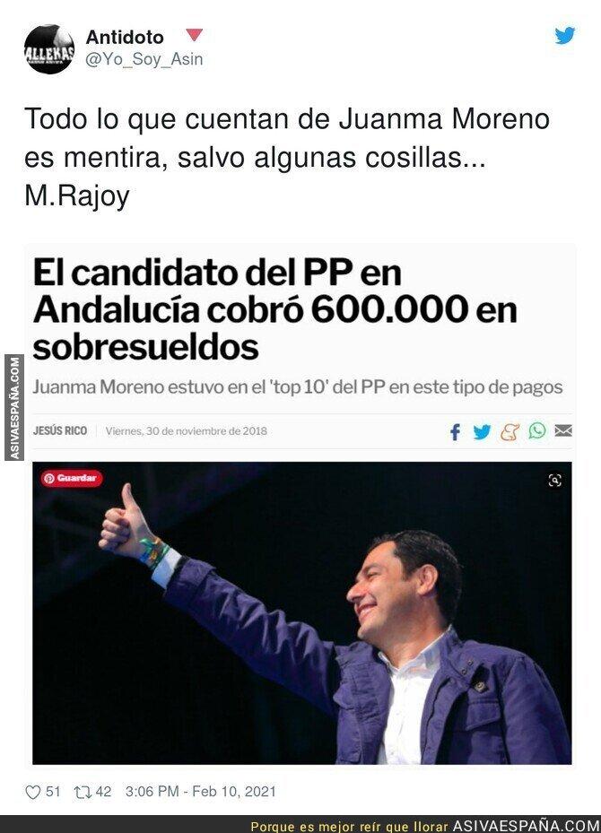 593432 - Juanma Moreno no se libra de los sobresueldos