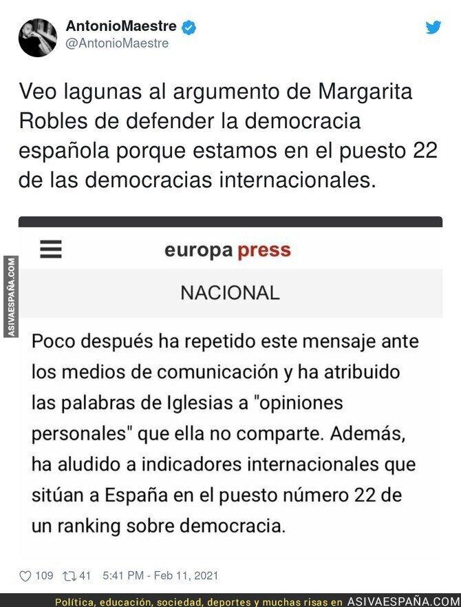 594957 - La democracia española está bajo duda